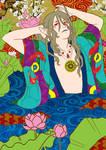 Bathing Beauty - Mononoke by adreamofthestars