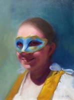 Mask - Self Portrait by adreamofthestars