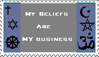 Beliefs stamp by Tapangowa86