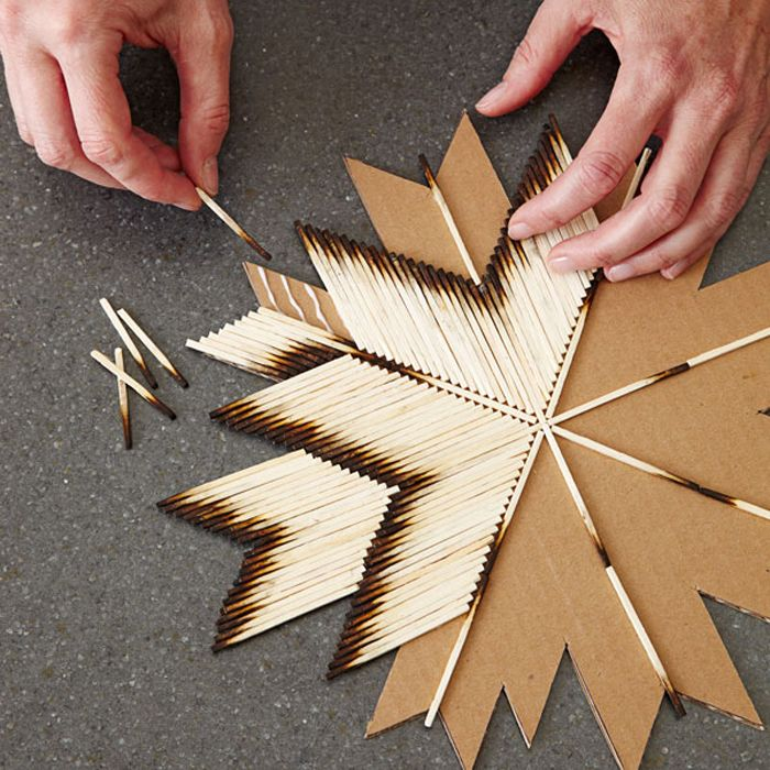 rocket drivers creative idea with matchstick by rocket