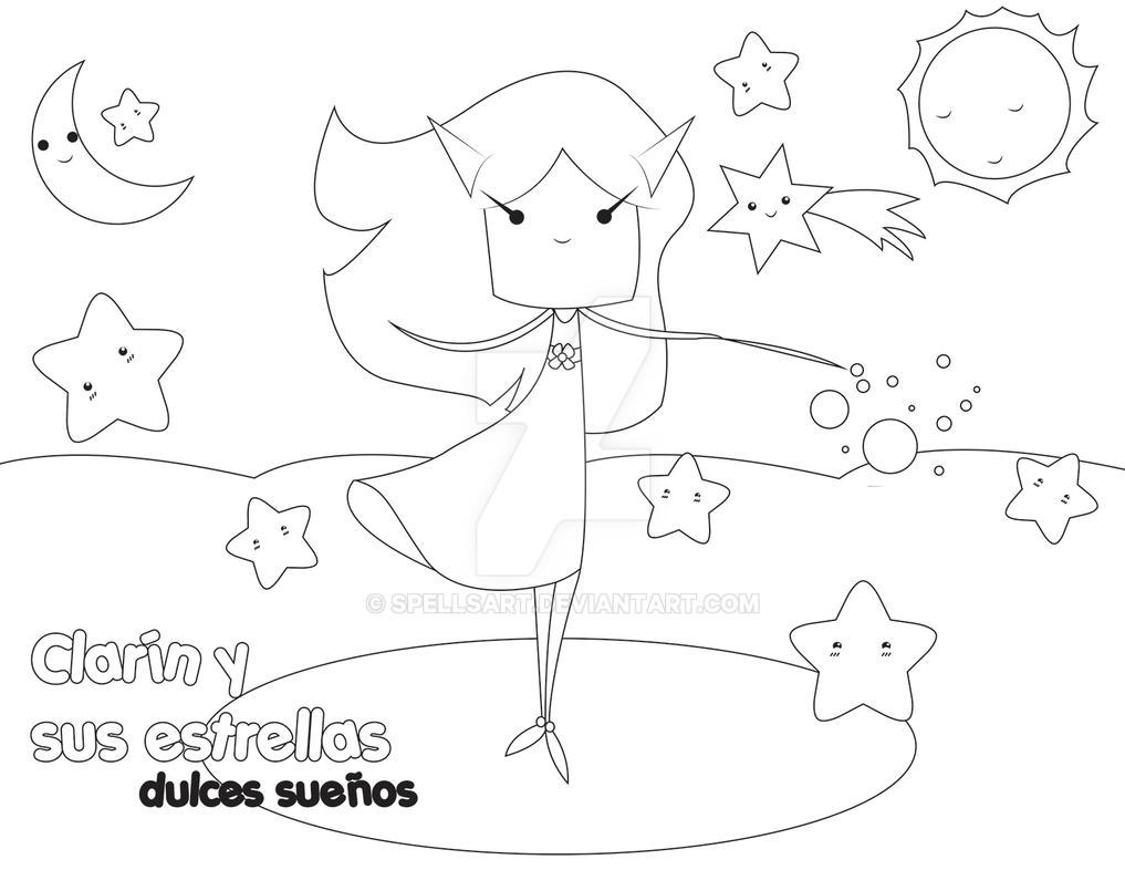 Colorear Estrellas By Spellsart On Deviantart