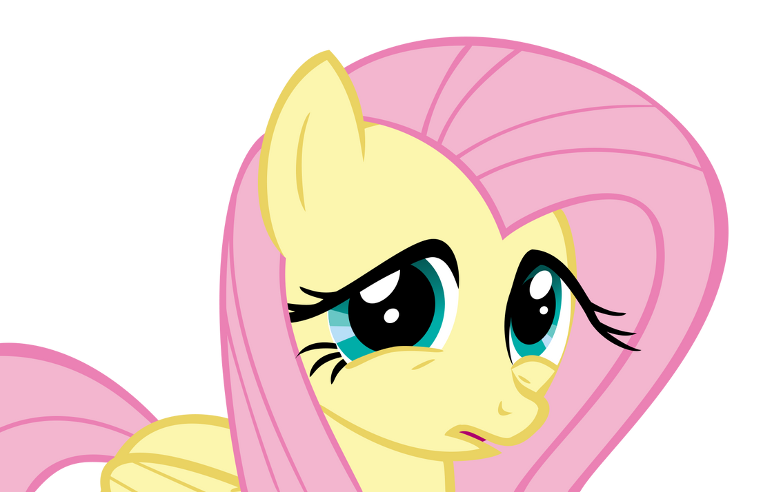 My Little Vector #5: Fluttershy (Ewww.. What?..) by KocMoHaBT