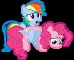 MLV#16: Dashie/Pinkie Pie by KocMoHaBT