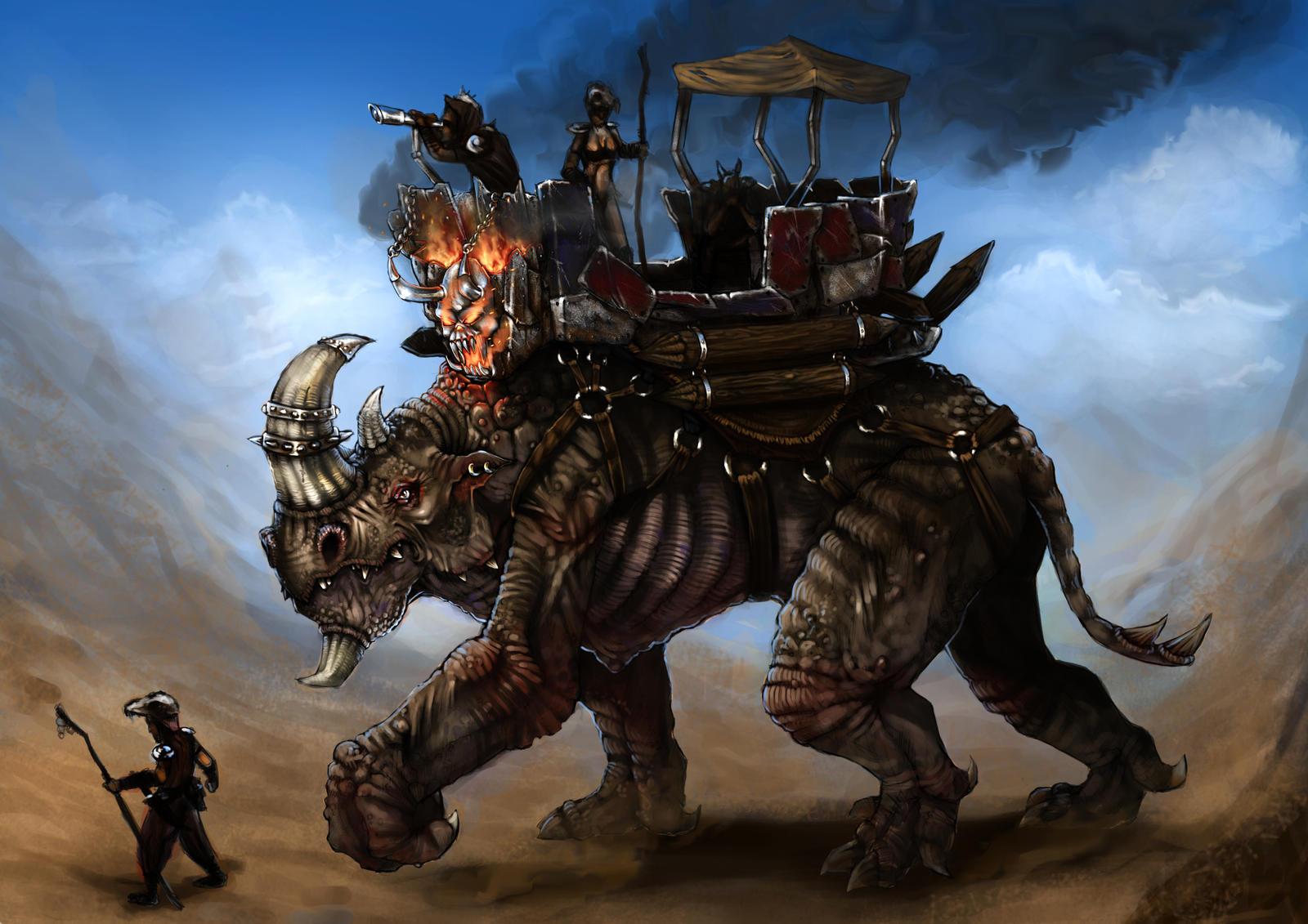 fantasy transport by beaulamb1992