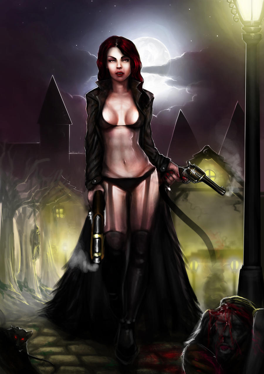 Vampire woman girl pics nude picture