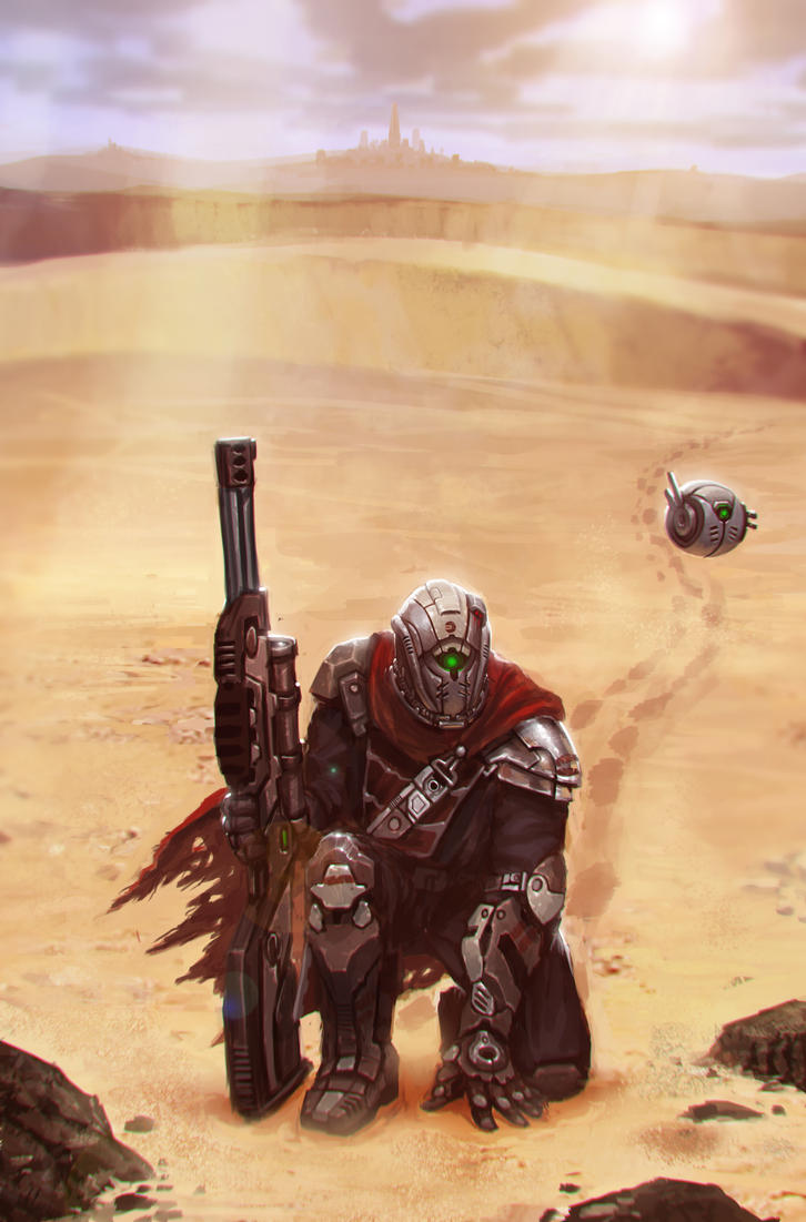 Destiny Fan Art by beaulamb1992