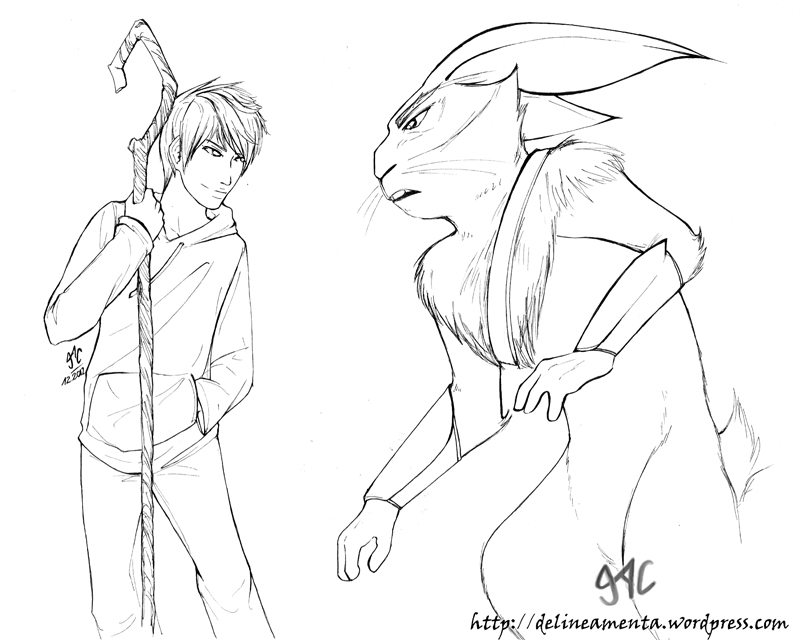 Jack Frost VS Bunny by Gevoel