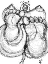 Plumpie Bombshell Feet by DangerStallion