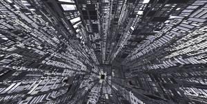 City in Symmetrical Lattice by GabrielM1968