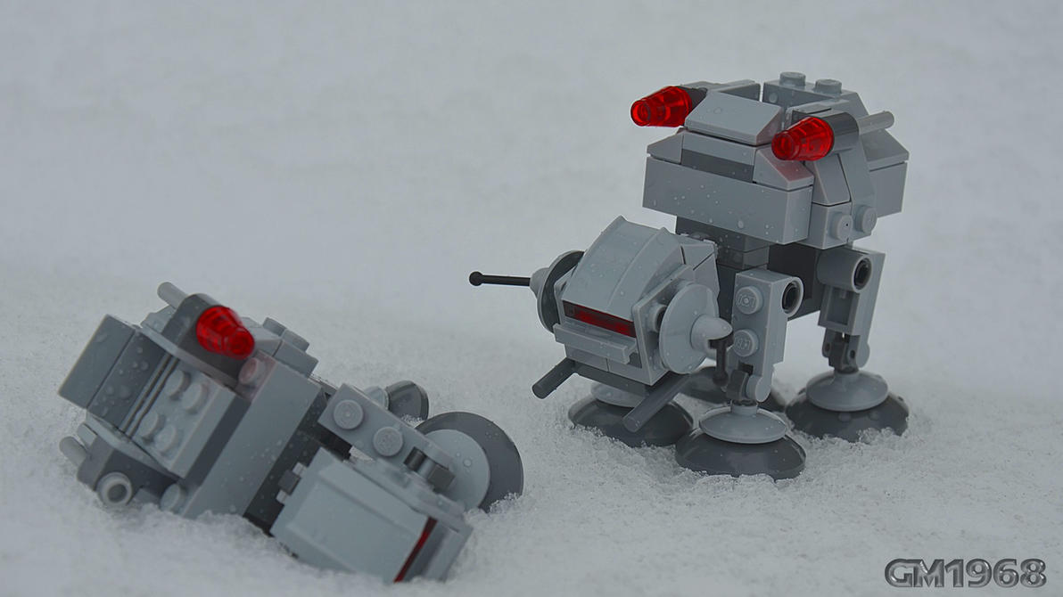 Lego Star Wars Microfighters AT-AT by GabrielM1968 on ...