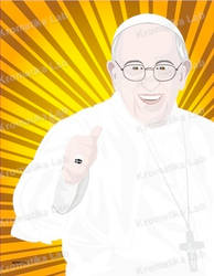 Papa Francesco by KromatikaLab