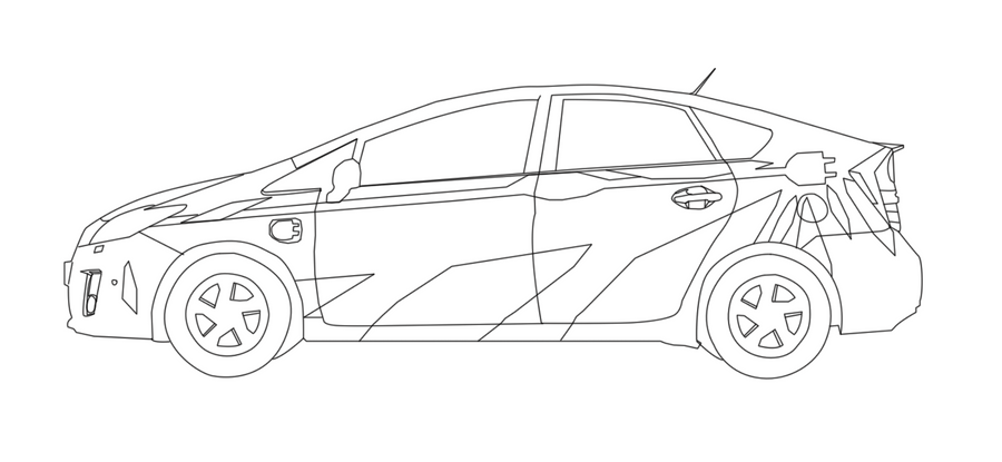 Line Art Car : Car lineart by hero of awesome on deviantart