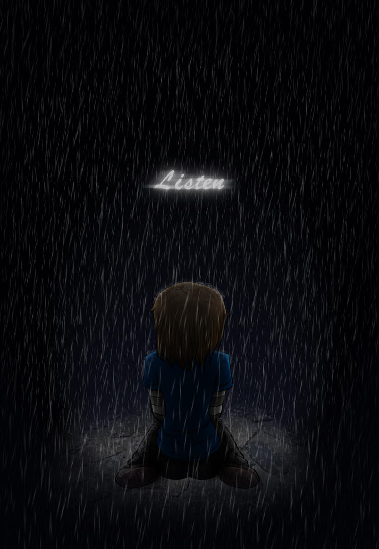 Listen to the Rain by Hero-of-Awesome