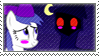 Cloakhead x Ghosty stamp by burntuakrisp