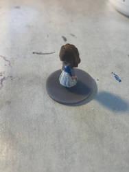 Princess Frisk Miniature WIP