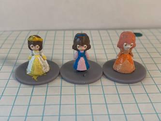 Complete Princess Freya (Frisk) miniatures