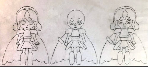 Chara the Fallen Outline