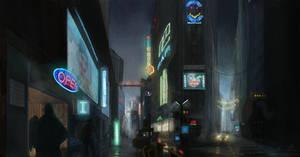Blade Runner - Alley