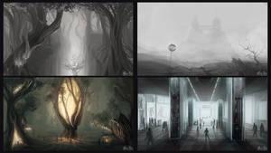 Concept art - Enviroments