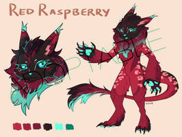 Very Berry Adoptable [OPEN] by ghost-biird