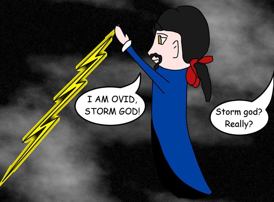 Storm God by flowofwoe