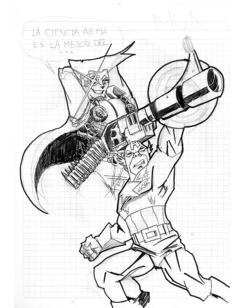 Art stuff by Ayaiken Stroheim_vs_captain_america_by_ayaiken-d677w59