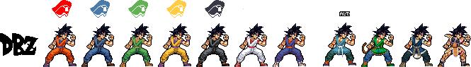 JUSR - Son Goku by ayaiken