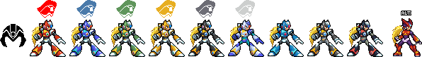 JUSR - Maverick Hunter Zero by ayaiken