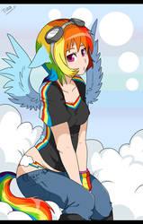 rainbowdash by mr-tiaa