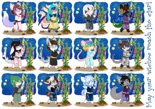 Tanabata YCH - Complete -