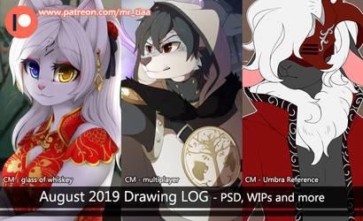 AUG 2019 - drawing LOG