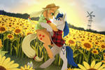 CM - sunflower field
