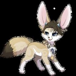 [MEMORY KEEPERS]  Fennec Fox - custom by mr-tiaa