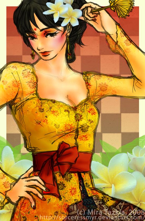 Gadis Bali by sorceressmyr