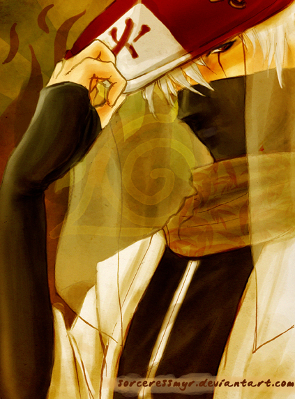 Raiken Mokushi, The Hokage Rokudaime_by_sorceressmyr