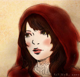 my red riding hood by sorceressmyr