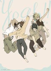 yeah, we jump by sorceressmyr