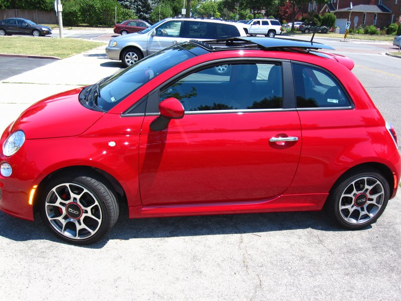 2013 Fiat 500 Abarth And 500c Abarth Red Short Hairstyle