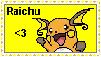 Pokemon Stamp Raichu by Chrisszilla