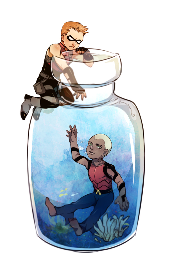 Small Jar by thefishboy