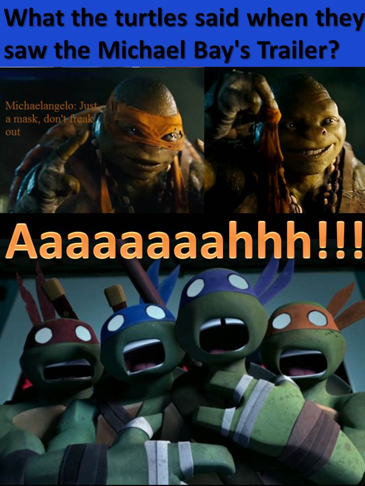 The turtles 2012 and T...