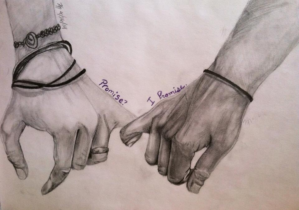Pinky Promise by Karlieaneina on DeviantArt