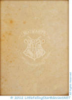 Hogwarts Parchment, front by LittleFallingStar