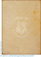 Hogwarts parchment, back by LittleFallingStar