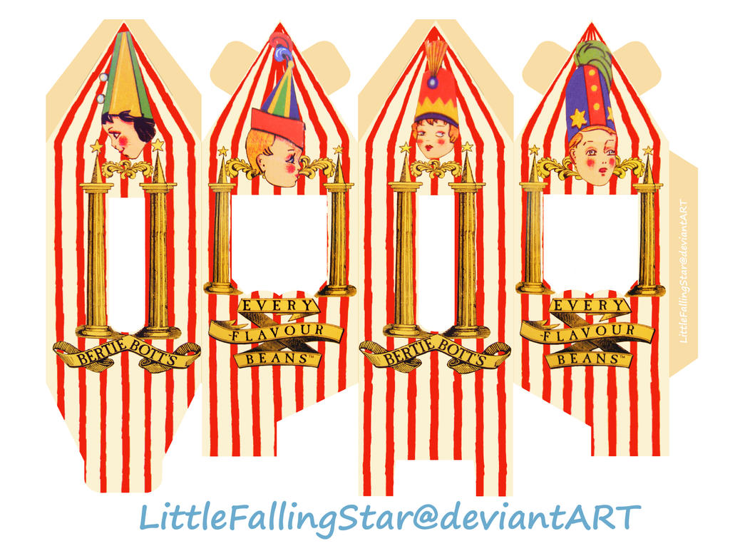 Bertie Botts Every Flavour Beans by LittleFallingStar on DeviantArt