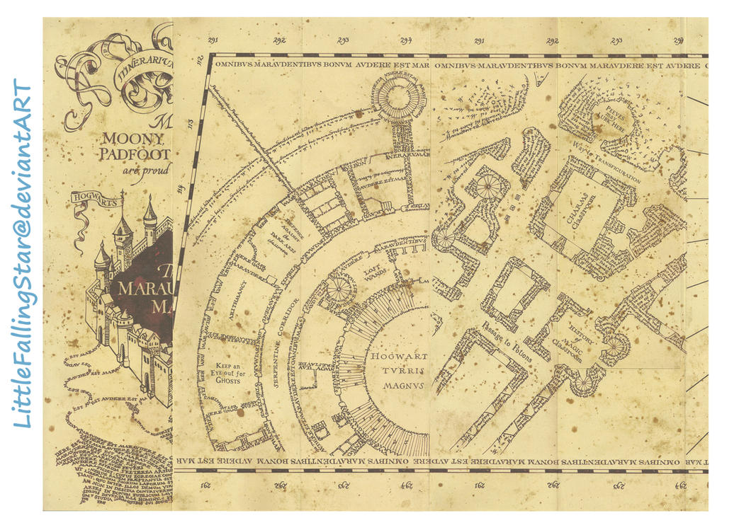 Great Wallpaper Harry Potter Map - marauders_map_page_1_by_littlefallingstar-d69p8vf  Graphic_485685.jpg