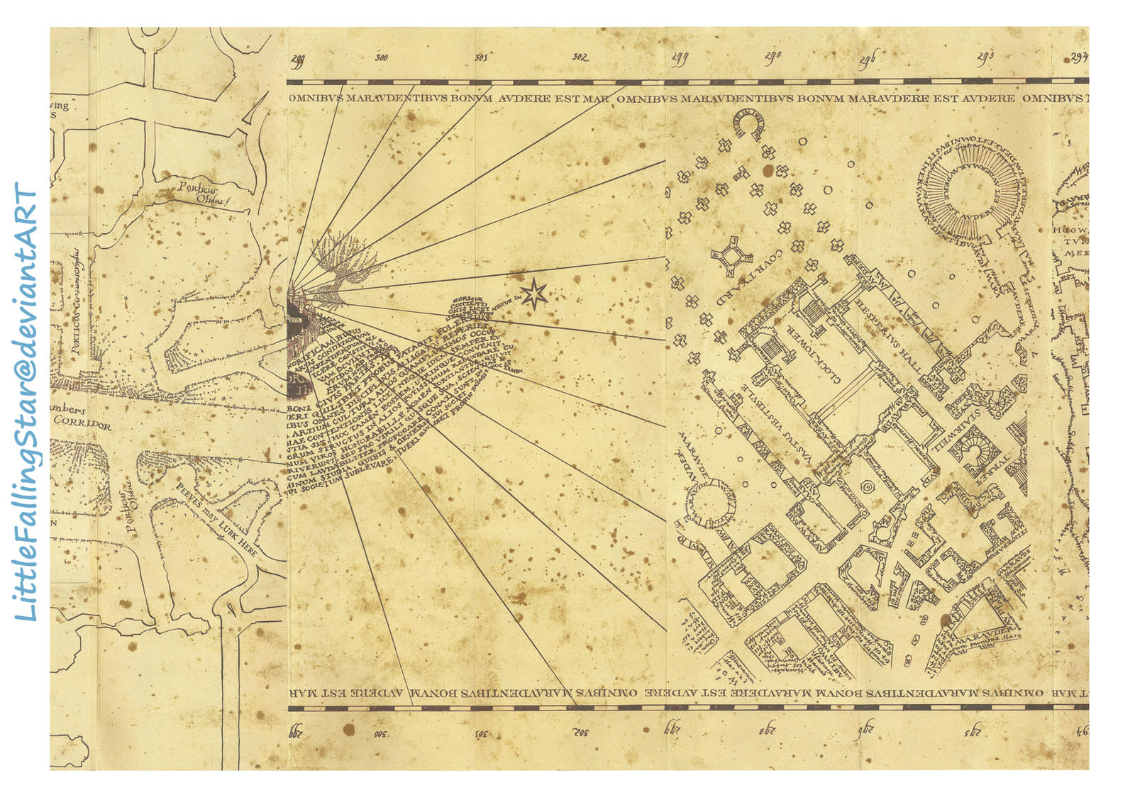 Simple Wallpaper Harry Potter Map - marauders_map_page_3_by_littlefallingstar-d69pa52  Best Photo Reference_366320.jpg