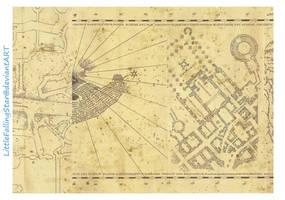 Marauders Map page 3 by LittleFallingStar