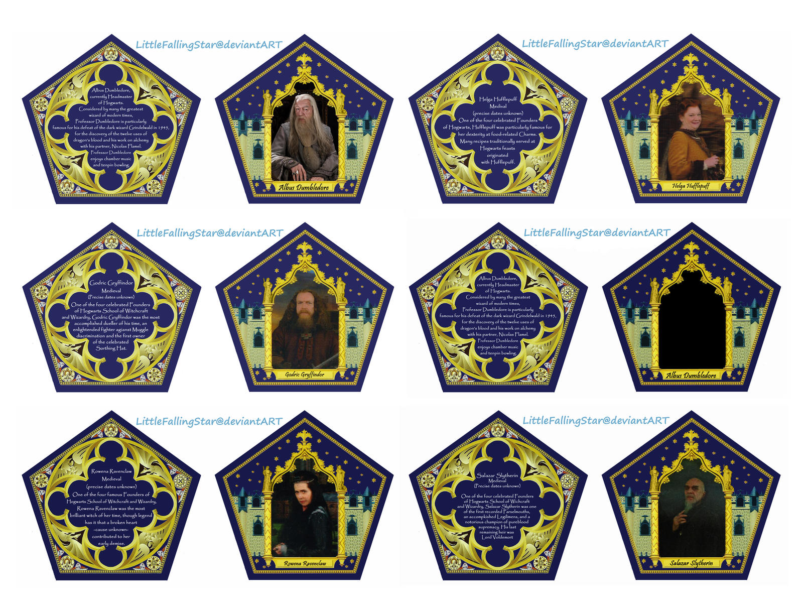 Chocolate Frog Card by LittleFallingStar on DeviantArt Throughout Chocolate Frog Card Template