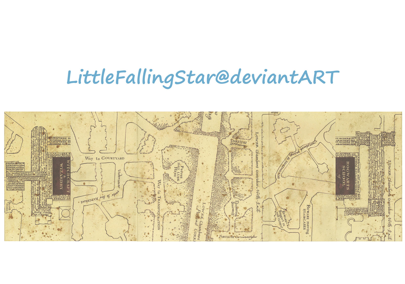 marauders map middle flaps by littlefallingstar marauders map middle flaps by littlefallingstar